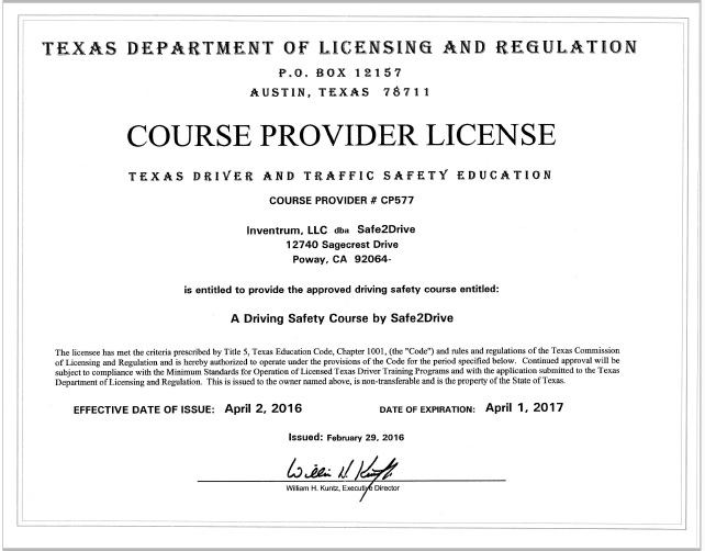 Defensive Driving San Antonio >> Course Overview - Defensive Driving Texas Course